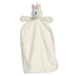 Isabella the White Unicorn Baby Blanket Napping Pal by Aurora