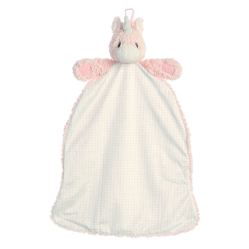 Aria the Pink Unicorn Baby Blanket Napping Pal by Aurora