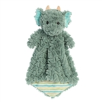 Jaxon the Green Dragon Luvster Baby Blanket by Aurora