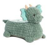 Jaxon the Ride On Plush Green Dragon for Babies by Aurora