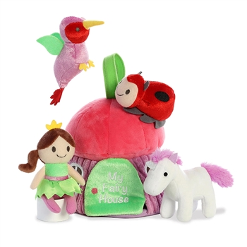 My Fairy House Plush Animals Playset for Babies by Aurora