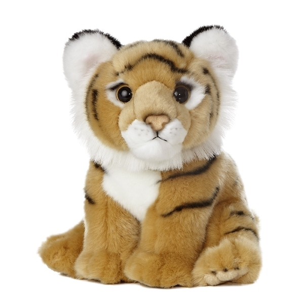 Realistic Stuffed Bengal Tiger Cub 10 Inch Plush Animal By Aurora At