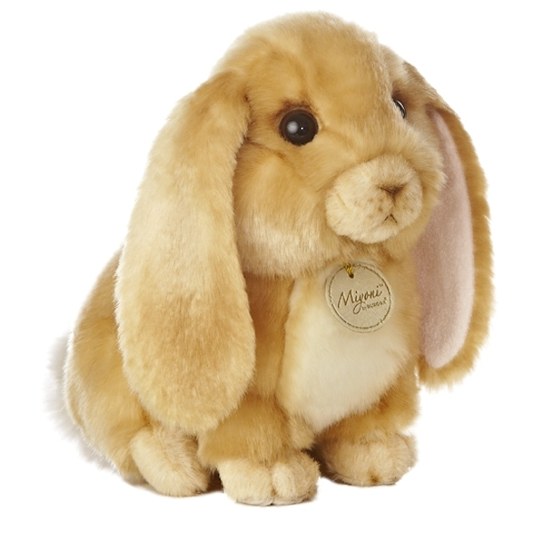 Realistic Stuffed Lop Eared Rabbit 10 Inch Plush Animal By Aurora At