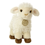 Realistic Stuffed Baby Sheep 7 Inch Plush Lamb by Aurora