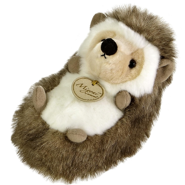 Realistic Stuffed Hedgehog 7 Inch Plush Animal By Aurora At Stuffed