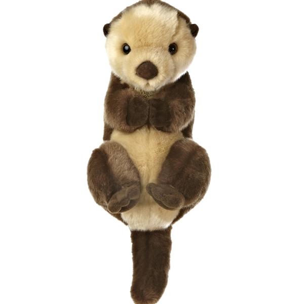 realistic stuffed sea otter 10 inch aurora stuffed safari