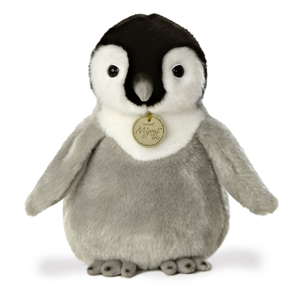 Realistic Stuffed Baby Penguin 10 Inch Plush Animal By Aurora At