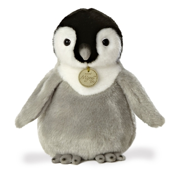 Realistic Stuffed Baby Penguin 10 Inch Plush Animal by Aurora