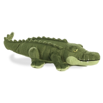 Realistic Stuffed Alligator 16 Inch Plush Animal by Aurora