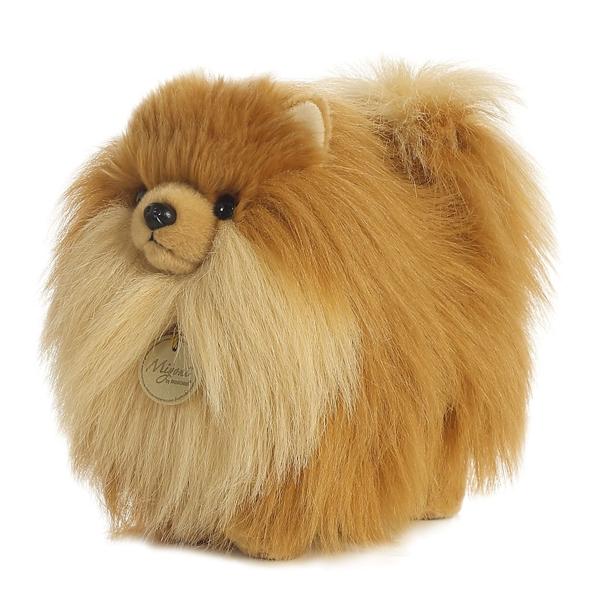 Realistic Stuffed Pomeranian 9 Inch Plush Dog By Aurora At Stuffed