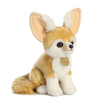 Realistic Stuffed Fennec Fox 9 Inch Miyoni Plush by Aurora