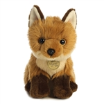 Realistic Stuffed Fox Kit 9 Inch Miyoni Plush by Aurora