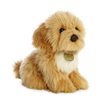 Realistic Stuffed Spoodle Puppy 9 Inch Miyoni Plush by Aurora