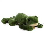 Realistic Stuffed Green Poison Dart Frog 7 Inch Miyoni Plush by Aurora