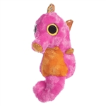 YooHoo and Friends Swimee the Stuffed Pink Seahorse by Aurora
