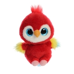 YooHoo & Friends Small Plush Lora the Scarlet Macaw by Aurora