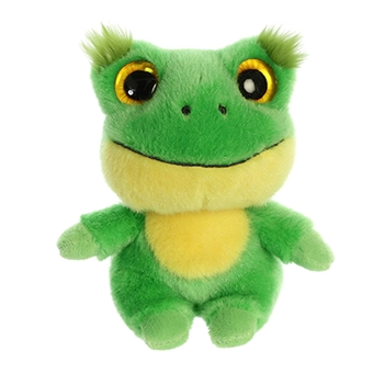 YooHoo & Friends Small Plush Acha the Frog by Aurora