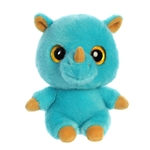 YooHoo & Friends Small Plush Rino the Blue Rhino by Aurora