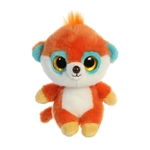 YooHoo & Friends Small Plush Pookee the Orange Meerkat by Aurora