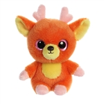 YooHoo & Friends Small Plush Jolley the Orange Reindeer by Aurora