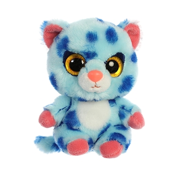 YooHoo & Friends Small Plush Spotee the Blue Cheetah by Aurora