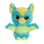 YooHoo & Friends Small Plush Batu the Panda Bat by Aurora
