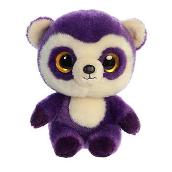 YooHoo & Friends Small Plush Ricky the Purple Andean Bear by Aurora
