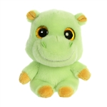 YooHoo & Friends Small Plush Tamoo the Green Hippo by Aurora