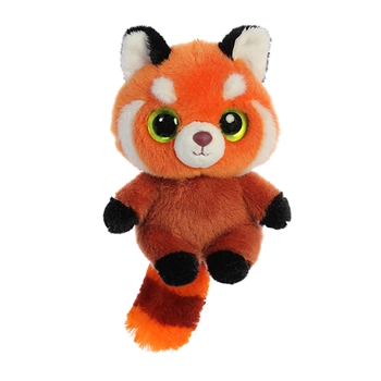 YooHoo & Friends Small Plush Hapee the Red Panda by Aurora