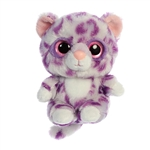 YooHoo & Friends Small Plush Alisha the Purple Leopard by Aurora