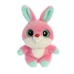 YooHoo & Friends Small Plush Betty the Pink Bunny by Aurora