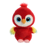 YooHoo & Friends Lora the Scarlet Macaw Stuffed Animal by Aurora