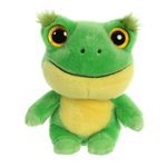 YooHoo & Friends Acha the Frog Stuffed Animal by Aurora