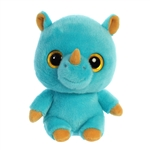 YooHoo & Friends Rino the Blue Rhino Stuffed Animal by Aurora