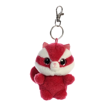 Chewoo the YooHoo & Friends Plush Squirrel Clip-On by Aurora