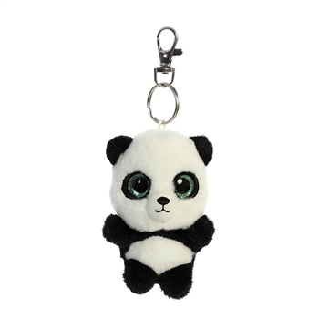 Ring Ring the YooHoo & Friends Plush Panda Clip-On by Aurora