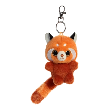 Hapee the YooHoo & Friends Plush Red Panda Clip-On by Aurora