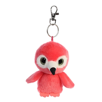 Mango the YooHoo & Friends Plush Pink Flamingo Clip-On by Aurora