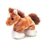 Clyde the Stuffed Clydesdale by Aurora
