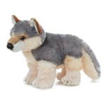Wily the Plush Wolf by Aurora