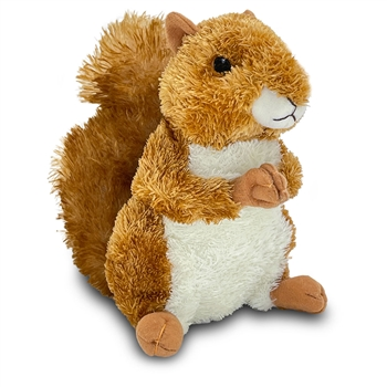 Nutsie the Stuffed Red Squirrel by Aurora