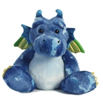 Verath Firebreath the Blue Dragon Stuffed Animal by Aurora