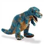 Blue Tyrannosaurus Rex Stuffed Animal by Aurora