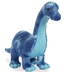 Blue Brachiosaurus Stuffed Animal by Aurora
