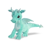 Willow the Teal Stuffed Dragon Sparkle Tales Plush by Aurora