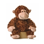 Stuffed Chimp 12 Inch Tubbie Wubbie by Aurora