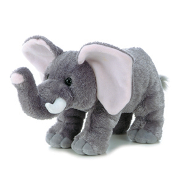 Completely new Peanut the Stuffed Elephant by Aurora at Stuffed Safari FJ04
