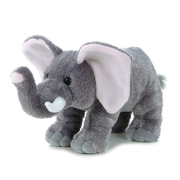 Peanut the Stuffed Elephant by Aurora