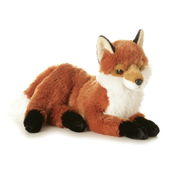 Fiona the Plush Red Fox by Aurora