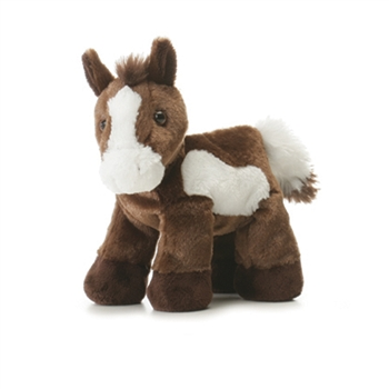Paint the Stuffed Brown Horse by Aurora